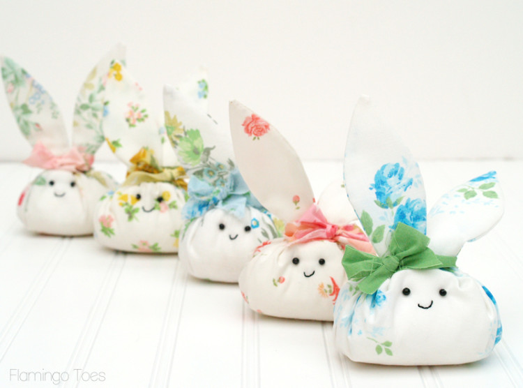 fabric easter bunny pattern