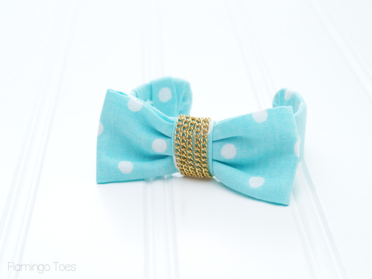 how to make a fabric wrapped bracelet