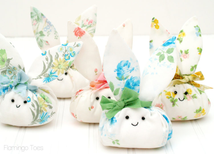 little fabric easter bunny pattern