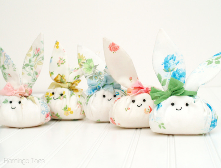 roly fabric easter bunnies