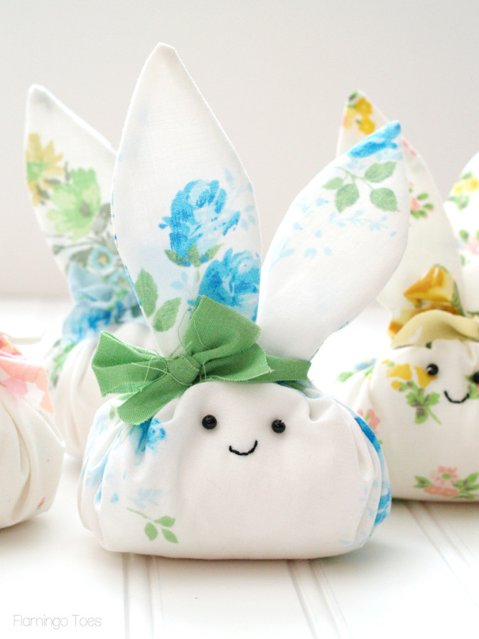 small fabric easter bunny pattern