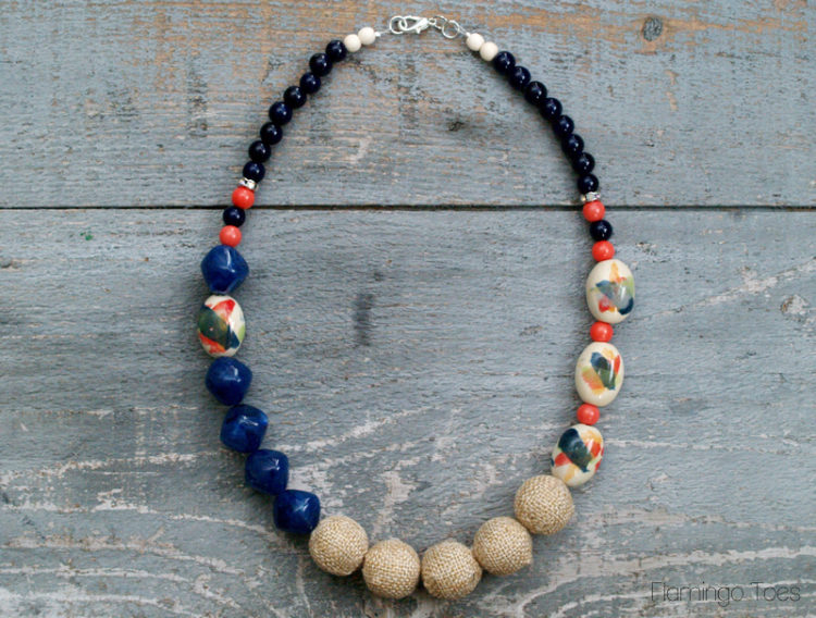 Bead Statement Necklace