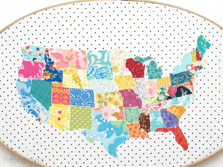 Colorful Fabric United States