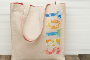 """Totes"" Cute Canvas Tote Bag"