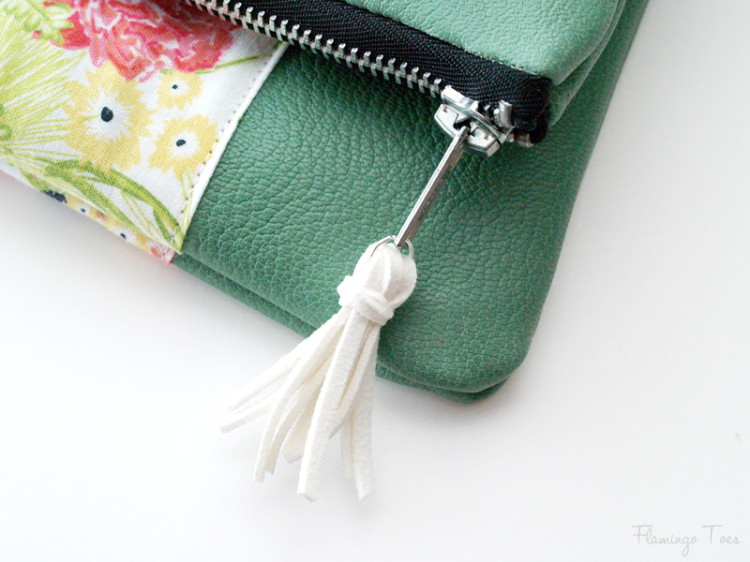 leather tassel for zipper