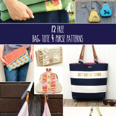 12 Free Bag, Tote & Purse Patterns