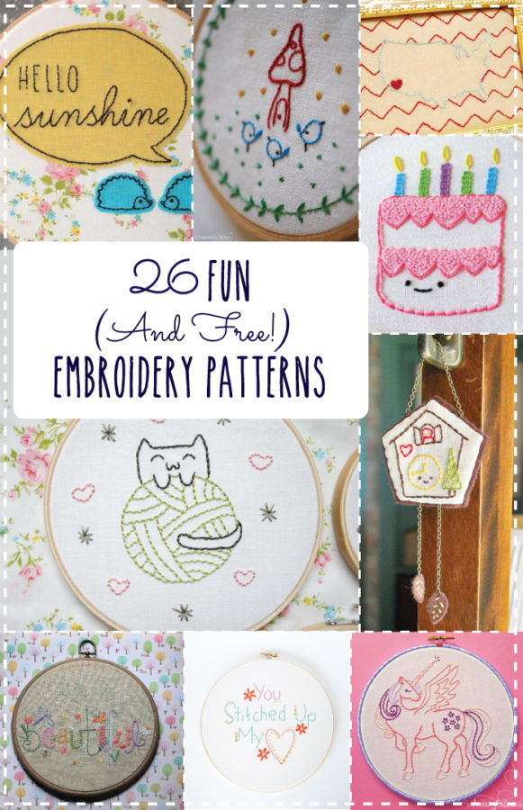 26-Fun-and-Free-Embroidery-Patterns