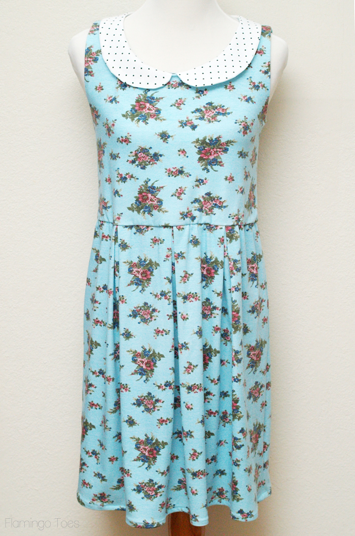 Floral Parisian Sundress