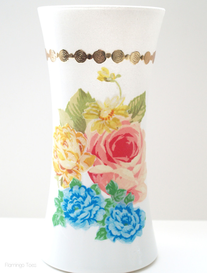 Medium Floral Vase