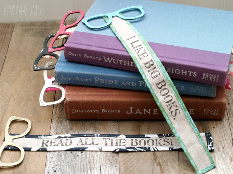 Read All The Books - Bookmark