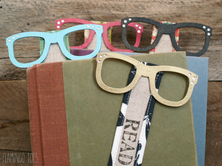 So Smart Glasses Bookmarks