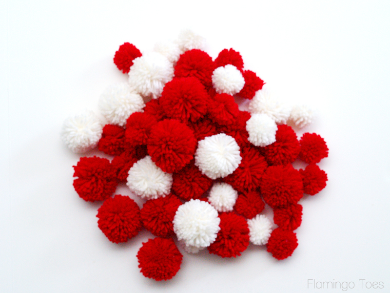 Lots of Pom Poms