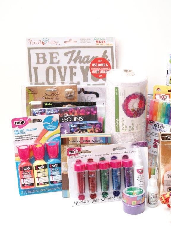 Summer Stash Giveaway Prize