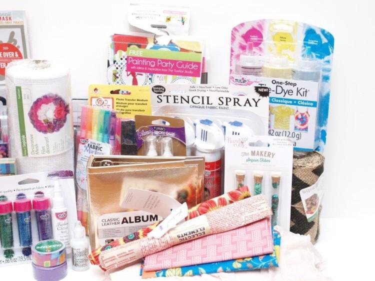 Summer Stash Giveaway Prizes