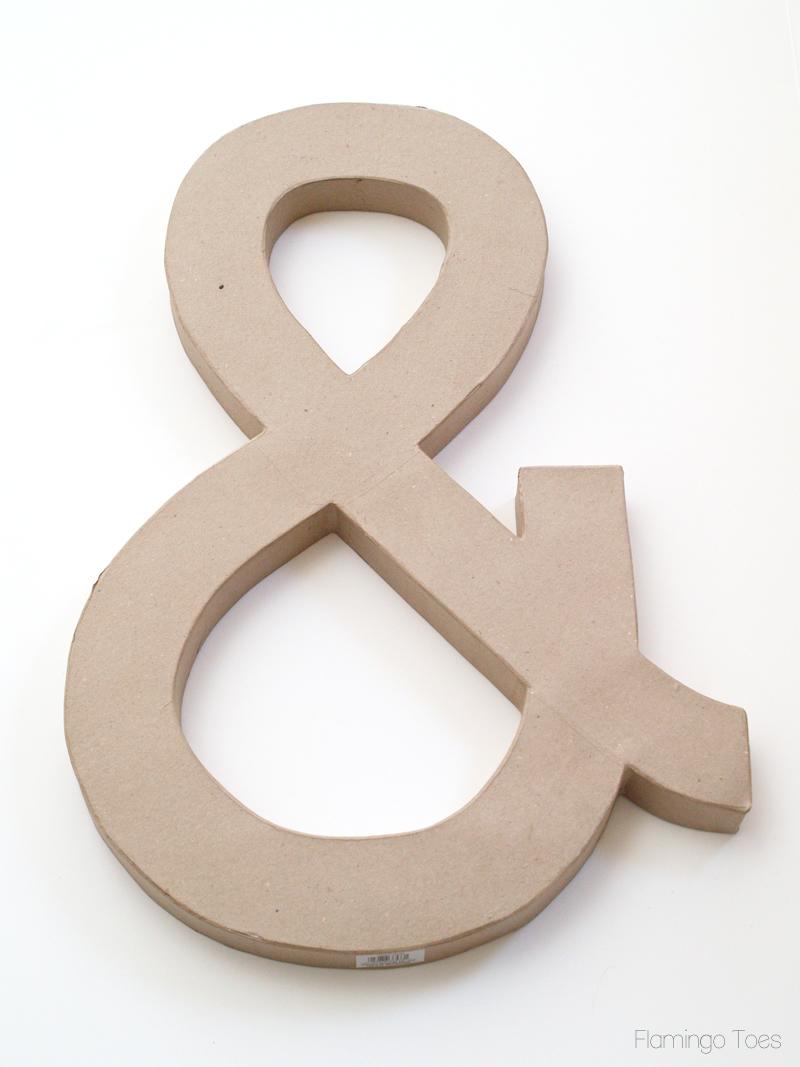 large ampersand