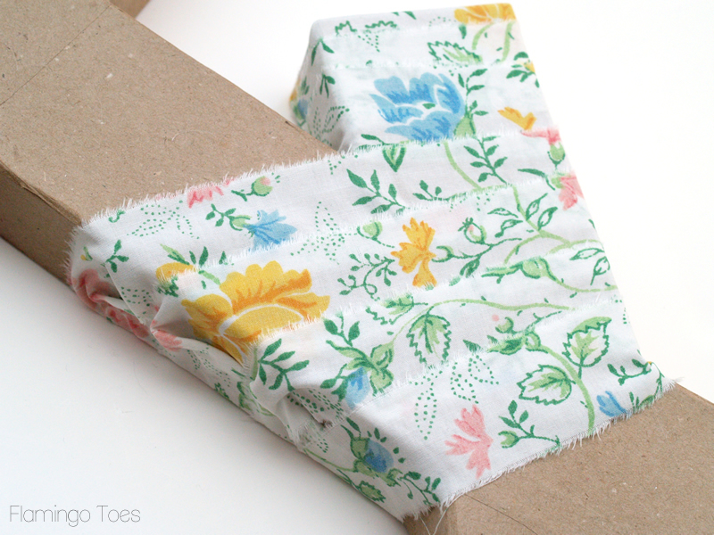 wrapping joint of letter