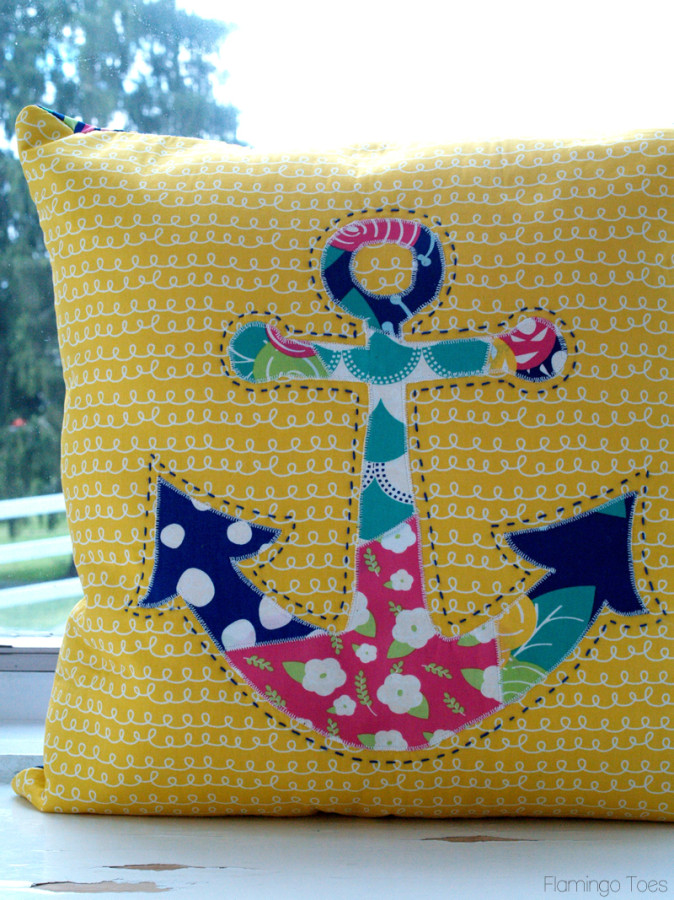 Anchor Pillow DIY