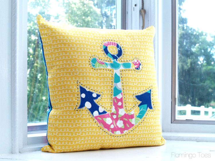 Darling Anchor Pillow DIY