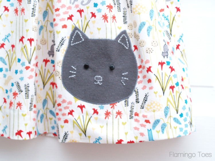 Darling Kitty Applique