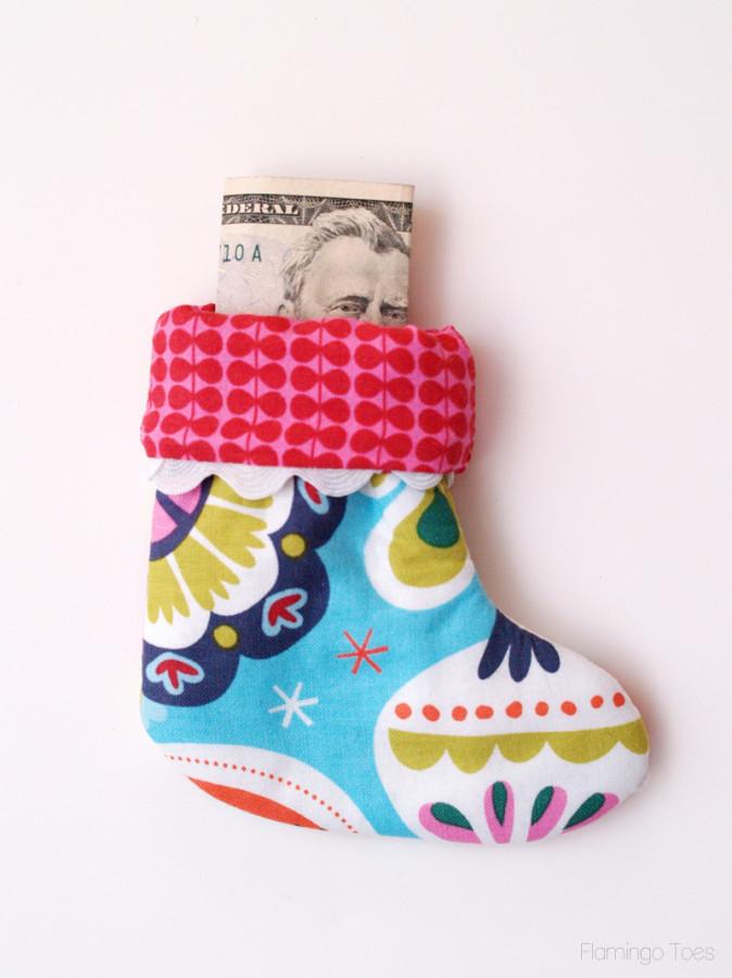 Money Stocking holder