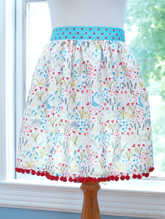 Adorable Easy Apron DIY