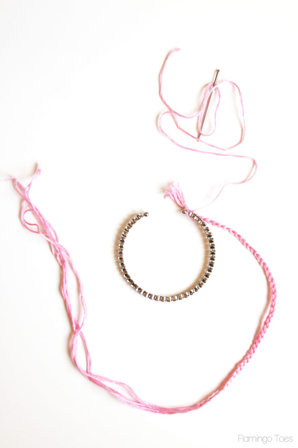 Braided Floss for bracelet