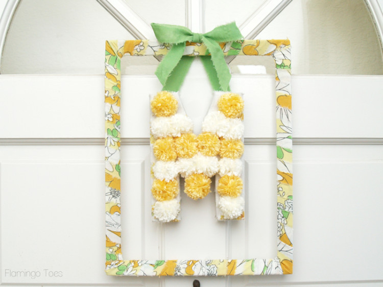 Monogram Frame Wreath