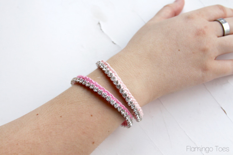 Pretty Braided Thread Bracelets