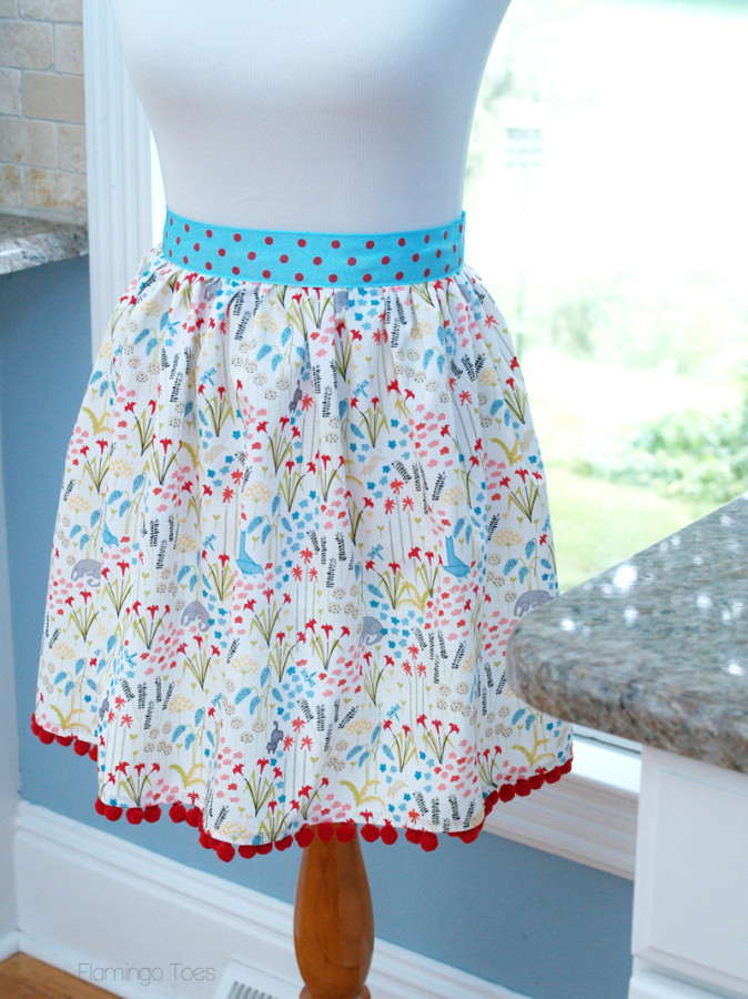 Super Easy DIY Apron