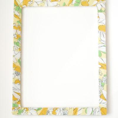 Framed Pom Pom Monogram Wreath