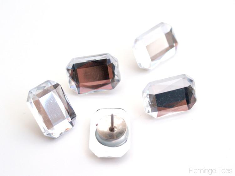 rhinestone thumbtacks