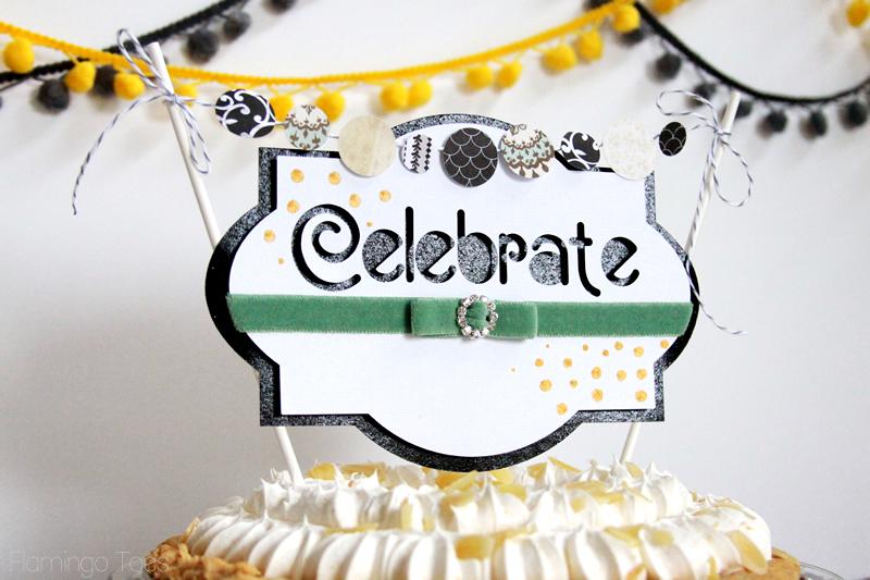 Celebrate Pie Topper