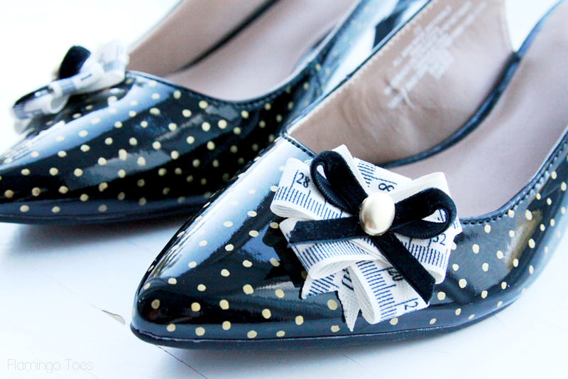 Cute Seamstress Shoe Refashion
