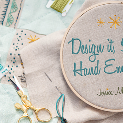 Hand Embroidery Stitches & Craftsy Class Giveaway