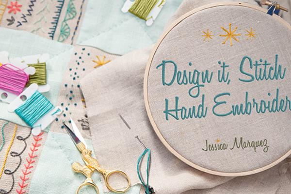 Design It Stitch It Embroidery Class