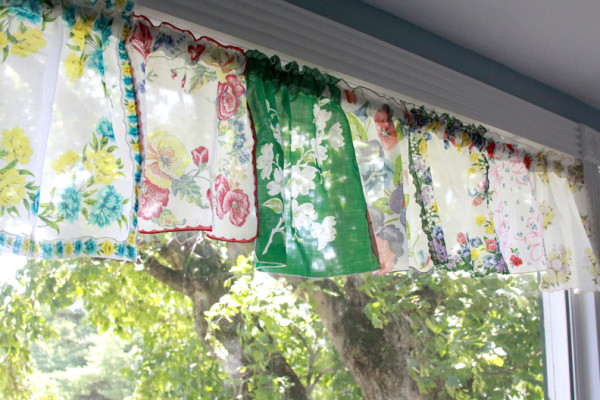 Handkerchief Curtain valances