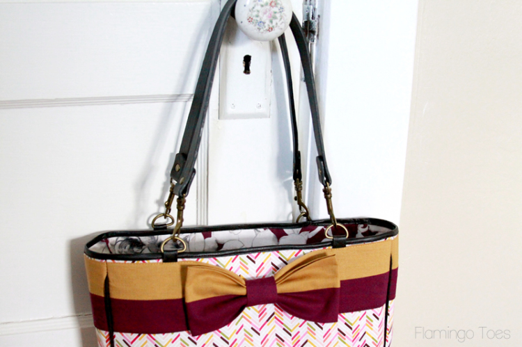 Kate Spade Knockoff Bow Tote