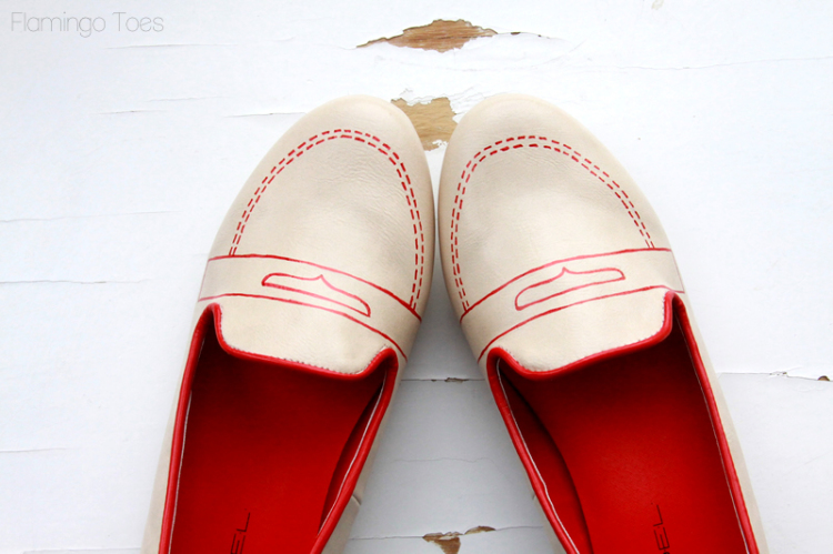 Sketchy Shoe Redo