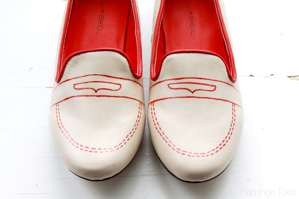 Sketchy Shoe Refashion