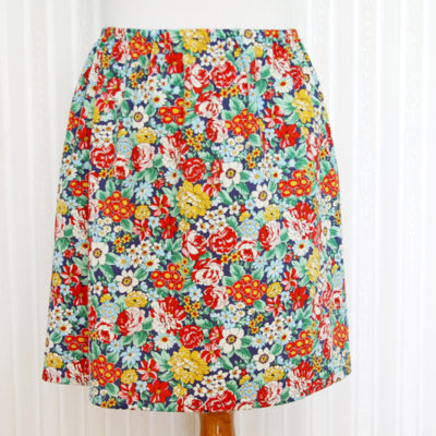 Cute and Easy 15 Minute DIY Skirt