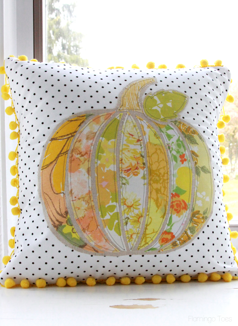 Applique Fall Pillow