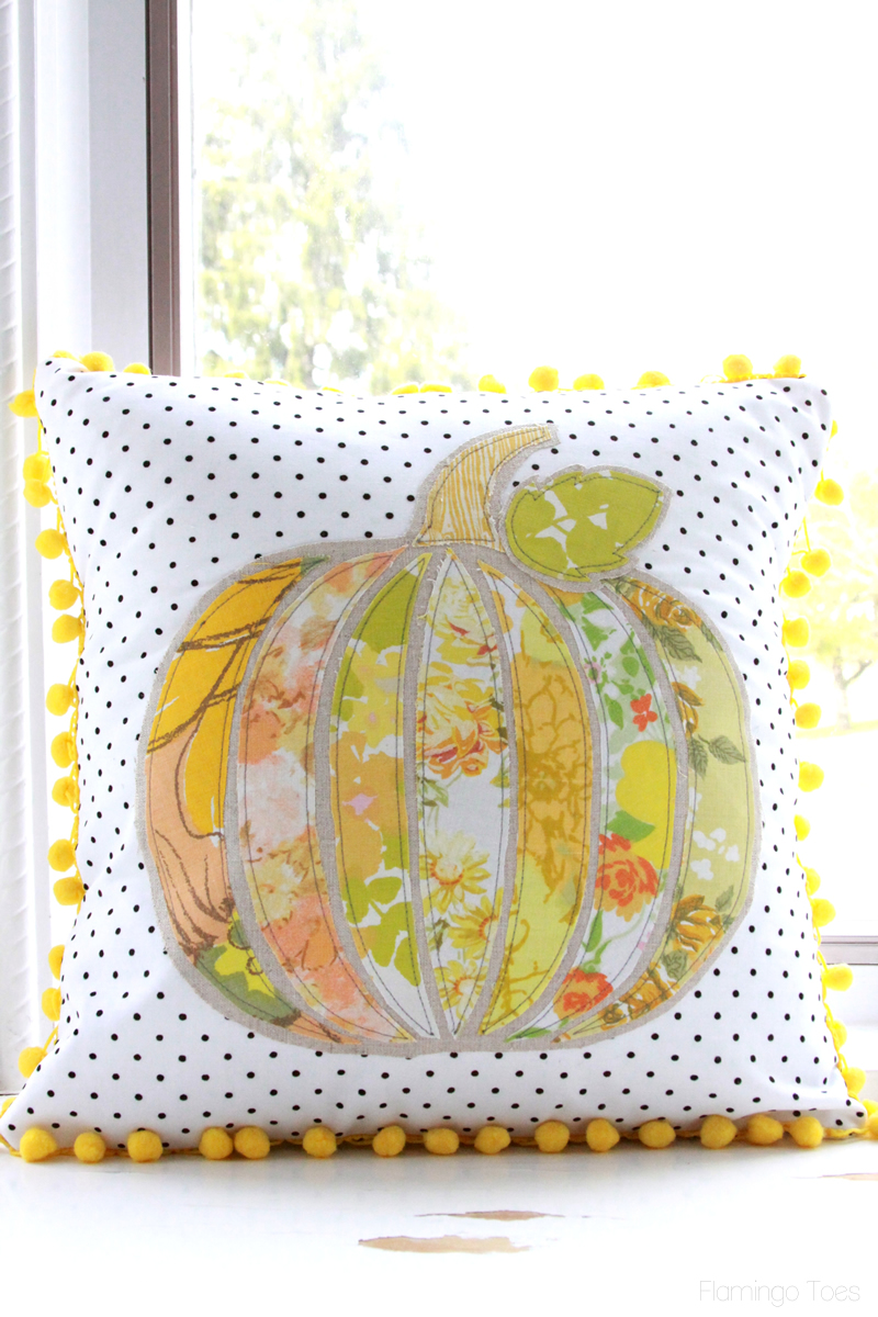 Easy Sewn Pumpkin Pillow