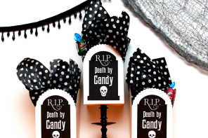 Death by Candy Halloween Treat Boxes