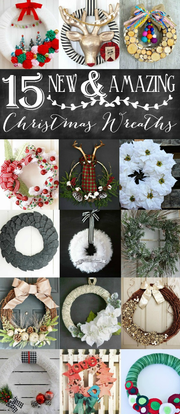 15 New and Amazing Christmas Wreaths