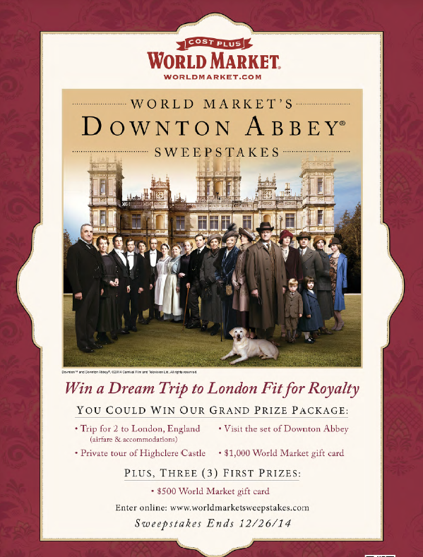 Downton Abbey Sweeps Image