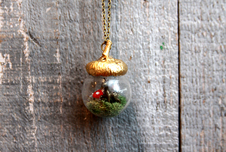 Fall Woodland Necklace