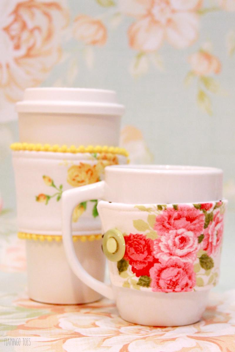 Floral Mug Cozies