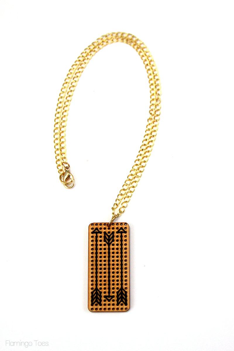Gold Chain on Pendant