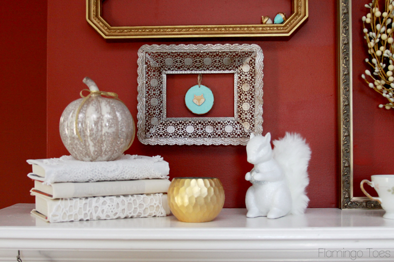 Woodland Mantel Display