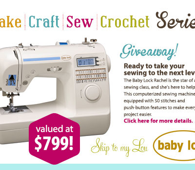 Sew Amazing Giveaway & Darling Handkerchief Apron